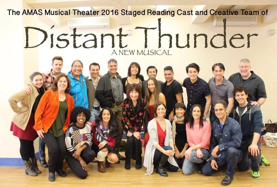Distant Thunder Cast and Creative NYC April 2016